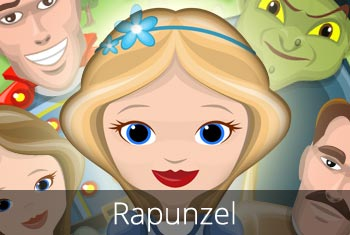 Grimm's Rapunzel, a 3D interactive pop-up book app for children by StoryToys
