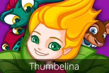 Thumbelina - a 3D pop-up kids app by StoryToys.