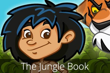 The Jungle Book - a 3D pop-up kids app by StoryToys.