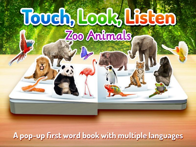 Zoo Animals - Touch, Look, Listen, an early learning kids' app by StoryToys. Introduce early learners to over 60 animals from around the world.