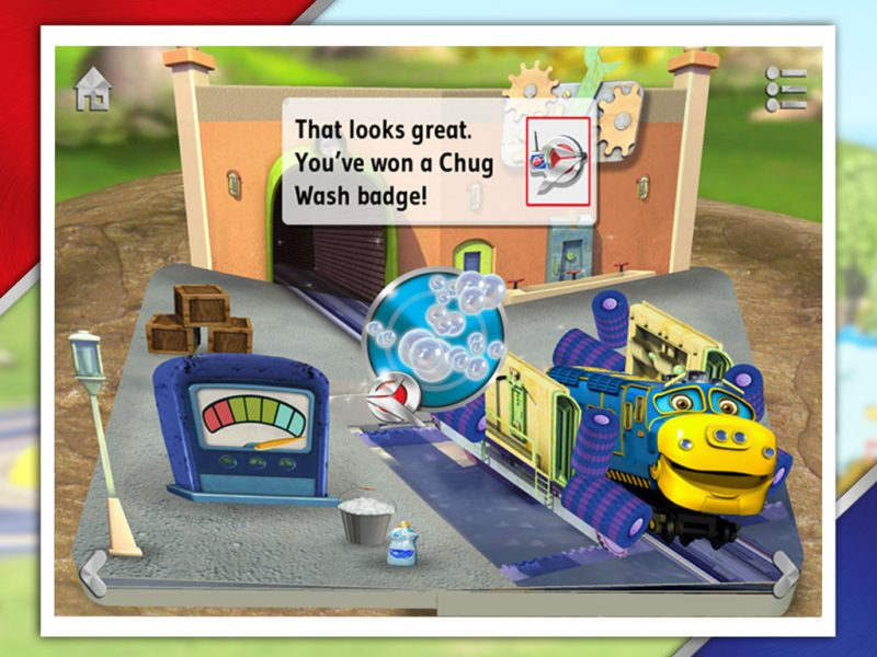 Chug Patrol - Ready to Rescue, an interactive 3D pop-up storybook app for kids by StoryToys based on the popular TV series. Win special Chug Patrol badges.