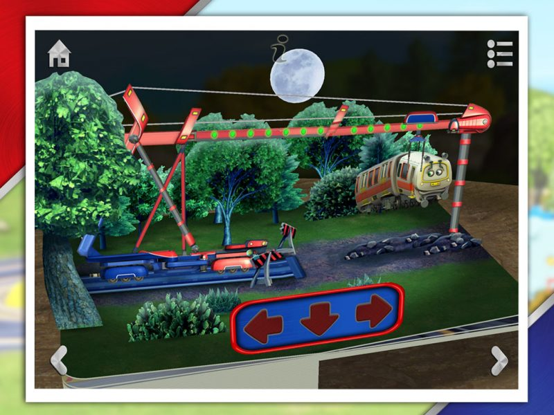 Chug Patrol - Ready to Rescue, an interactive 3D pop-up storybook app for kids by StoryToys based on the popular TV series. Rescue a derailed Emery with Chug Patrol 4, the Stretch Car