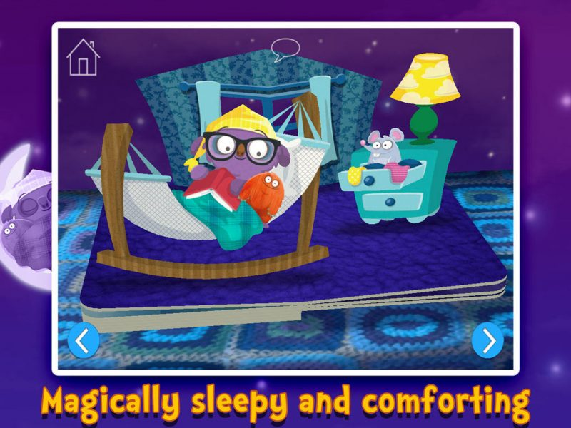 Goodnight Mo - a magically sleepy and comforting bedtime app by StoryToys