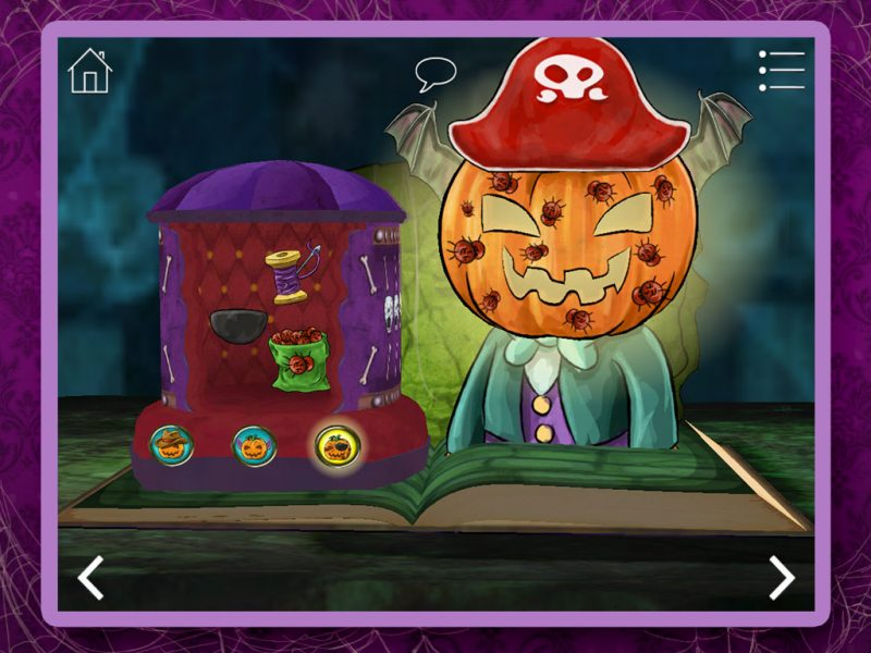 Haunted House Kids App - StoryToys Apps. Bursting with exciting games and activities.