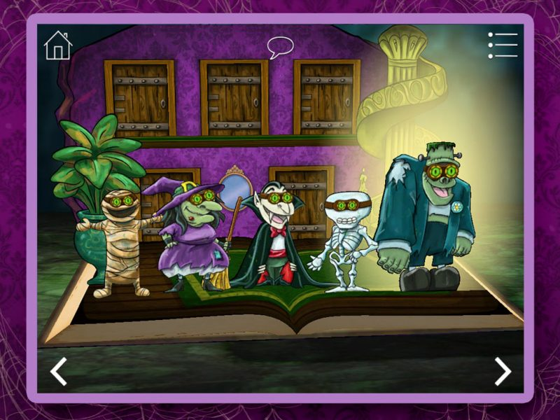 Haunted House Kids App - StoryToys Apps. Oodles of eerie fun!