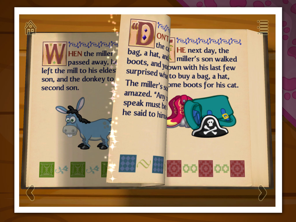 Grimm's Puss In Boots Kids App - StoryToys