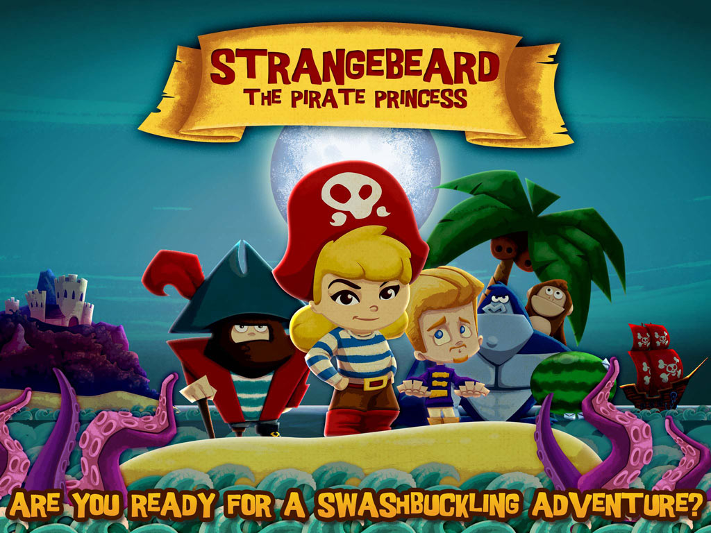 The Pirate Princess - A swashbuckling, action-packed pirate adventure story and game by StoryToys.