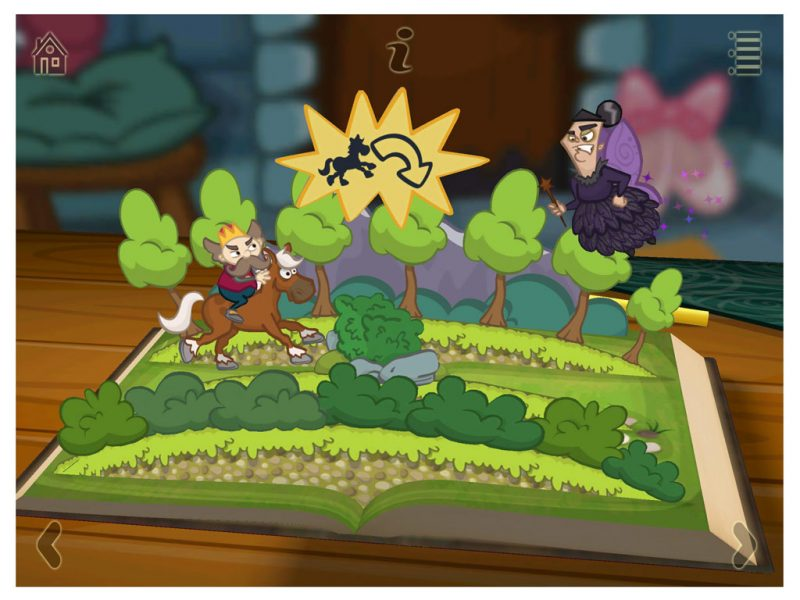 Grimm's Sleeping Beauty Kids App - StoryToys Apps. A magical 3D pop-up book. Immerse yourself in the story.