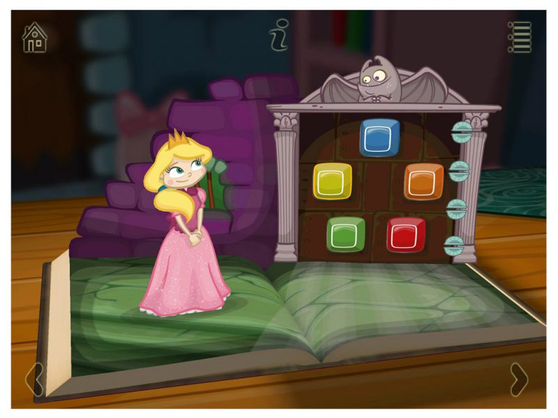 Grimm's Sleeping Beauty Kids App - StoryToys Apps. A magical 3D pop-up book. Bursting with exciting games and puzzles.