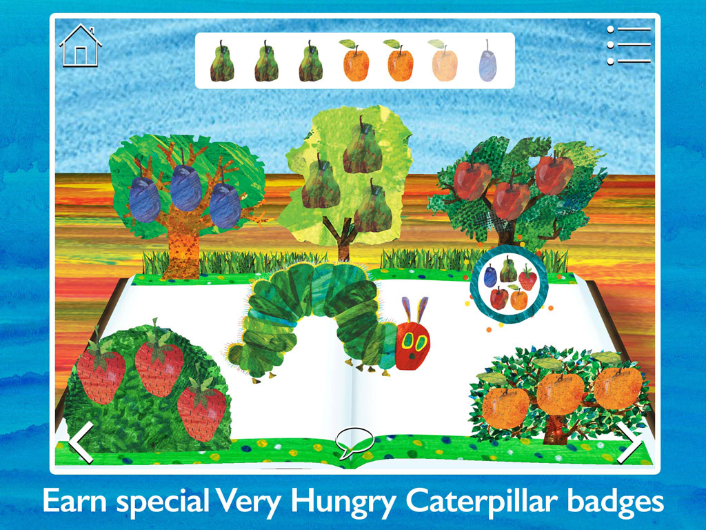 The Very Hungry Caterpillar & Friends - Play & Exploreapp for children by StoryToys. Play and explore with The Very Hungry Caterpillar and other much-loved characters created by Eric Carle. Earn special Very Hungry Caterpillar badges.
