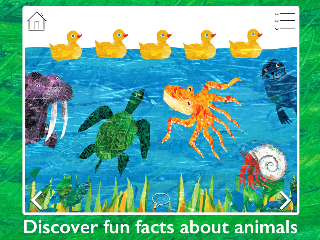 The Very Hungry Caterpillar & Friends - Play & Exploreapp for children by StoryToys. Play and explore with The Very Hungry Caterpillar and other much-loved characters created by Eric Carle. Discover fun facts about animals