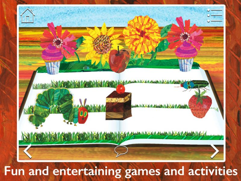 The Very Hungry Caterpillar & Friends - Play & Exploreapp for children by StoryToys. Play and explore with The Very Hungry Caterpillar and other much-loved characters created by Eric Carle. Fun and entertaining games and activities.