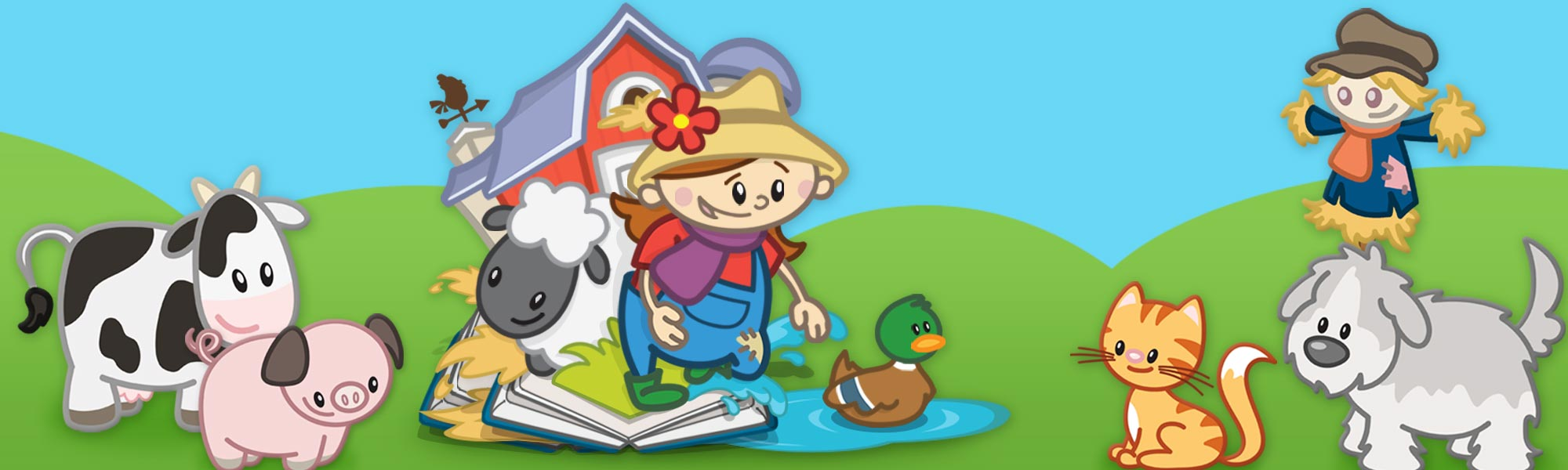 Farm 123 Counting App for Kids - StoryToys Apps