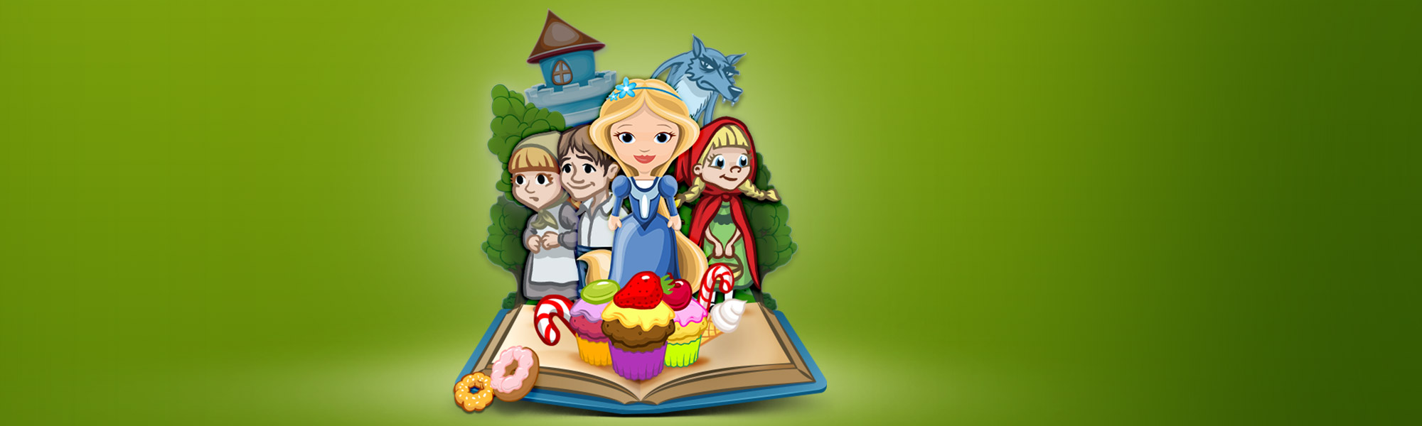 Grimm's Collection Vol 1 Kids App - StoryToys Apps