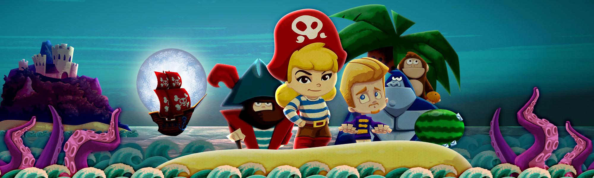 Pirate Princess App - StoryToys Apps