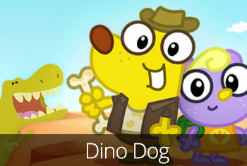 A dinosaur app for kids