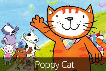 Poppy Cat and The Bubble Volcano - StoryToys