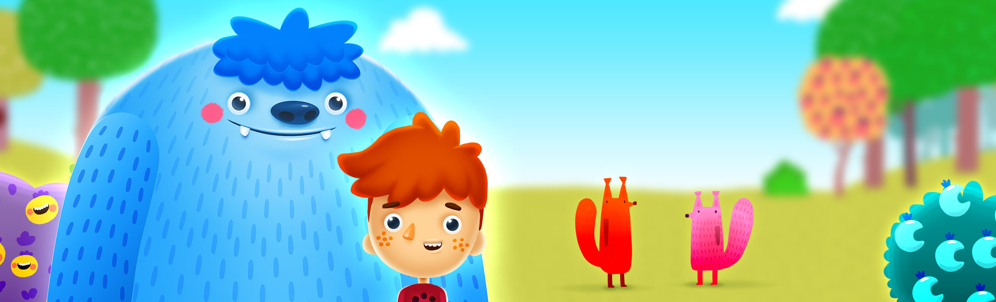 Jelly Jumble StoryToys Kids App, a matching game with an awesome story.
