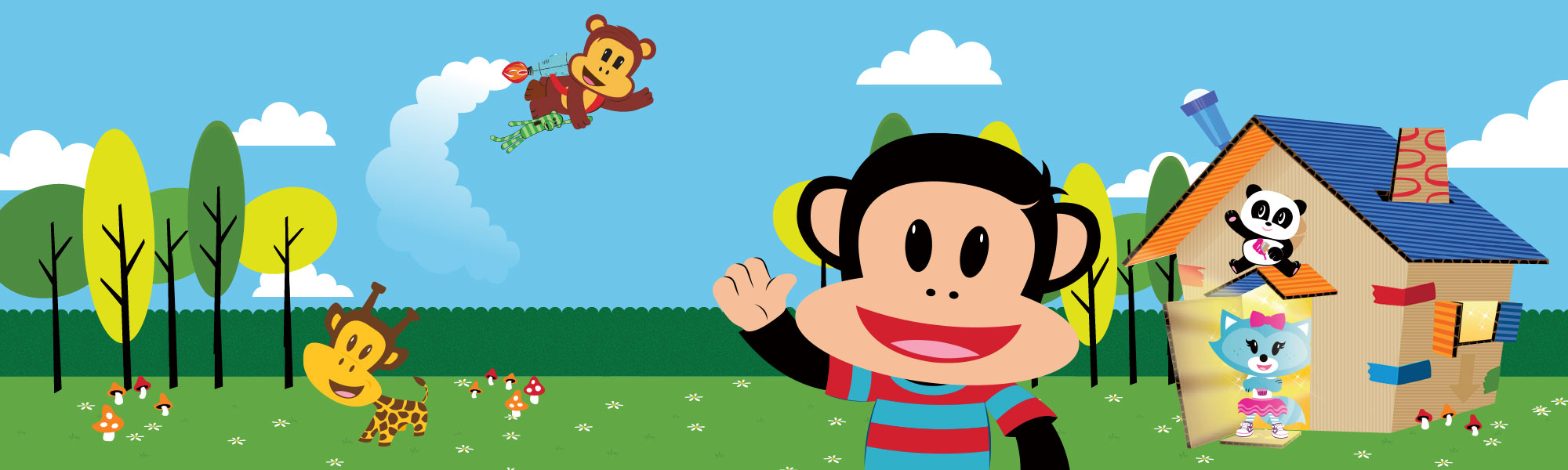 Julius Jr.'s Playhouse kids' app by StoryToys