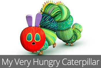 My Very Hungry Caterpillar - StoryToys Chidren's App. App store icon.