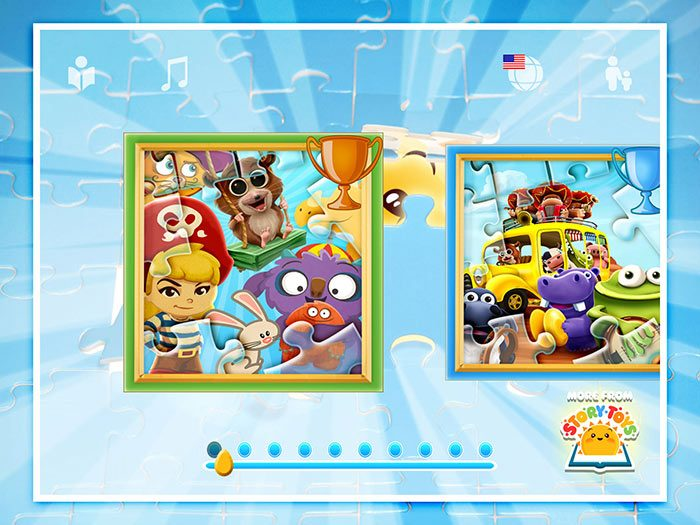 StoryToys' Jigsaw Puzzle Collection App for Kids