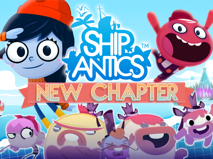 ShipAntics kids app by StoryToys. Chapter two now available!