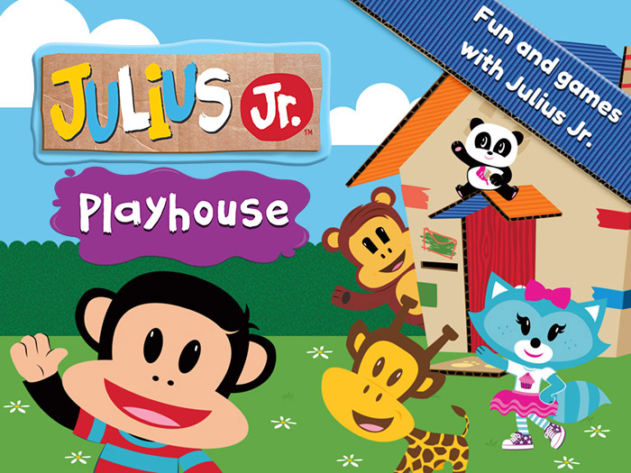 Julius Jr.'s Playhouse! title screenshot - fun and games with Julius Jr.