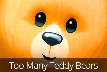 Too Many Teddy Bears app store icon