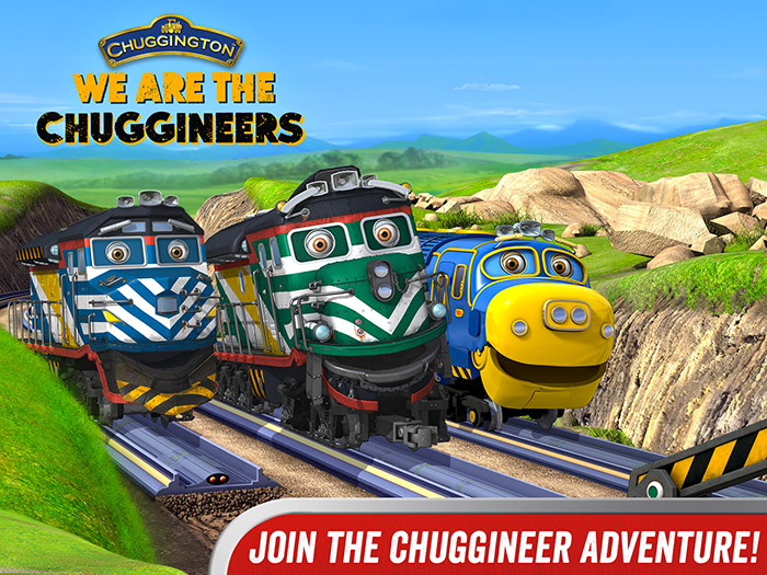Chuggington – We are the Chuggineers title. Join the Chuggington Adventure!