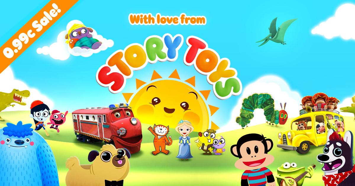 StoryToys 0.99c sale