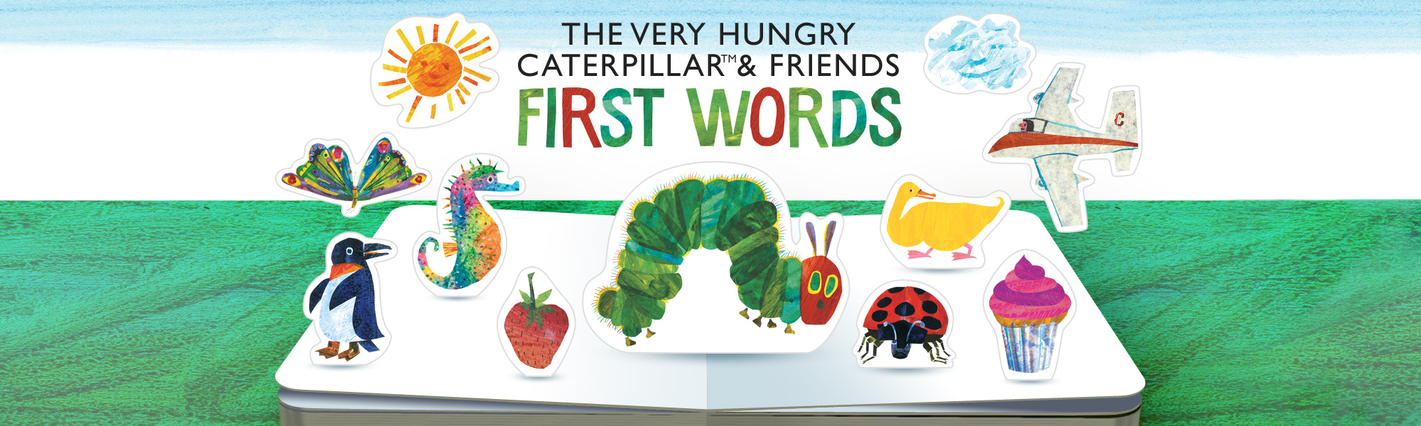 The Very Hungry Caterpillar & Friends First Words, a 3D pop-up app for young children