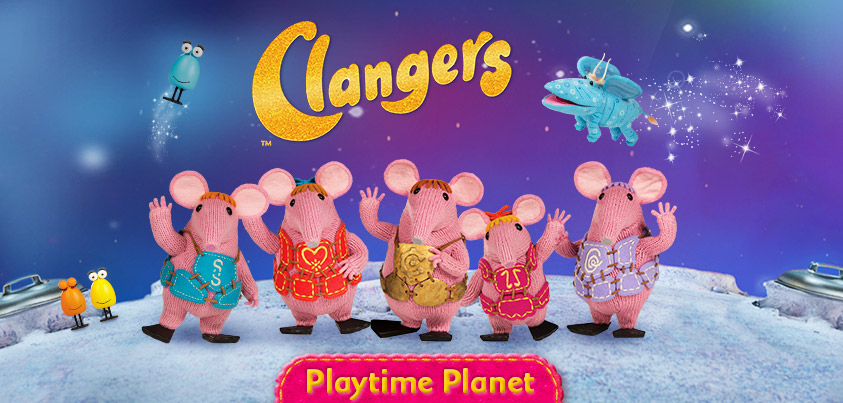 Clangers - Playtime Planet title screenshot