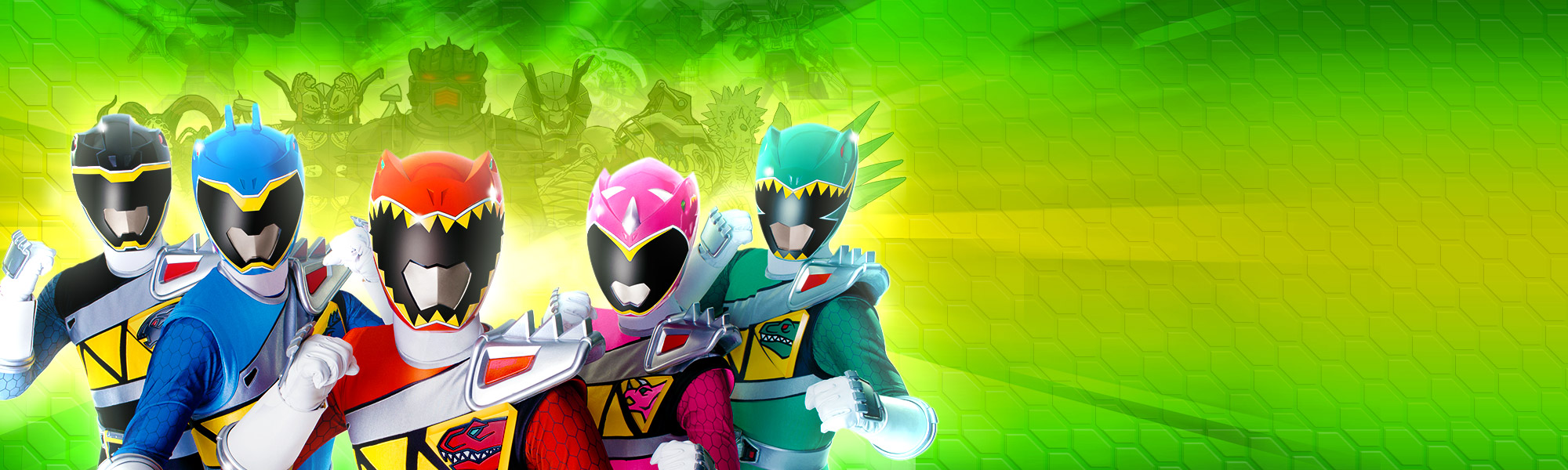 Power Rangers Dino Charge Rumble title image