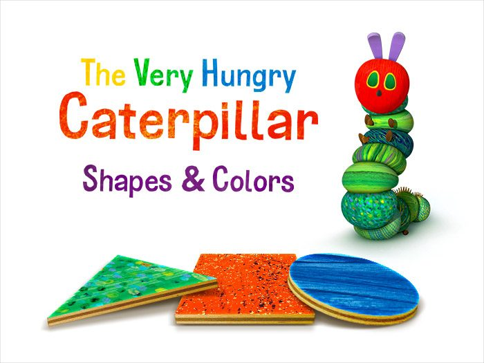 The Very Hungry Caterpillar™ - Shapes and Colors, a kids app by StoryToys based on the characters of Eric Carle.