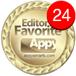 Appy Smarts Editor's Favourite award