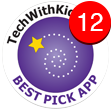 StoryToys Tech With Kids App Award