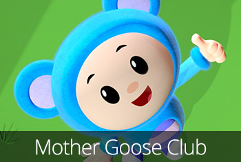 Mother Goose Club: Kids & Baby Video, Books, Games available in the App Store and Google Play