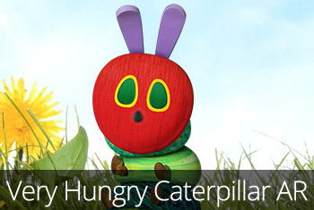 My Very Hungry Caterpillar AR available on the App Store